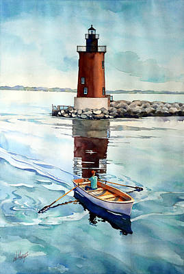 Lighthouse Keeper Paintings
