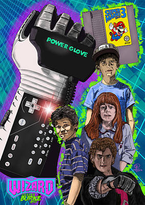 Digital Art - The Wizard by Joseph Burke