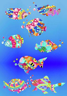 Undersea Digital Art
