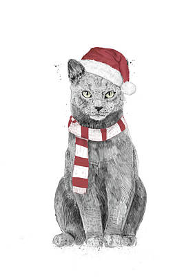 Designs Similar to Xmas cat by Balazs Solti