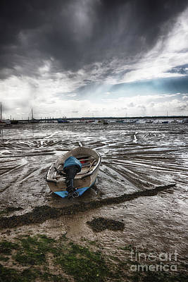 Digital Art - Low Tide by Nigel Bangert