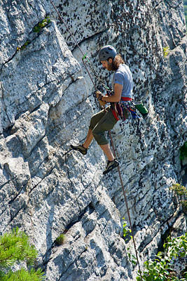 Photograph - Climber by Cornelia DeDona