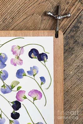 Flower Pressing Art