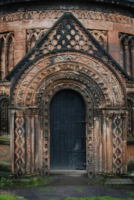 Photograph - Mausoleum Door by Bud Simpson