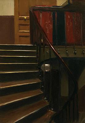 Stairwell Paintings