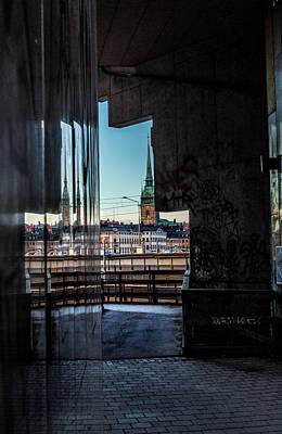 Digital Art - Stockholm I by Vin De Rosa