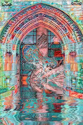 Digital Art - Taos University Of Marine Science by Mike Braun