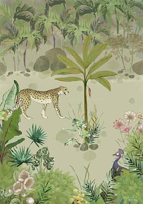 Digital Art - The Jungle by Nehal Desai