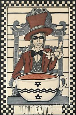 Tom Petty And The Heartbreakers Drawings