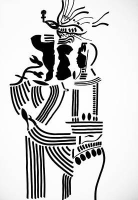 African Ceramics Drawings
