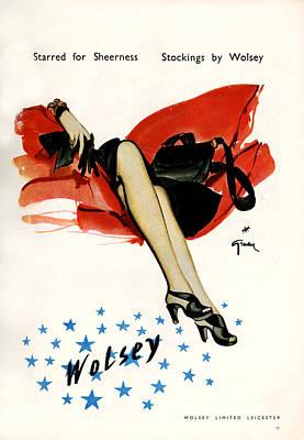 Designs Similar to 1940s Uk Wolsey Magazine Advert