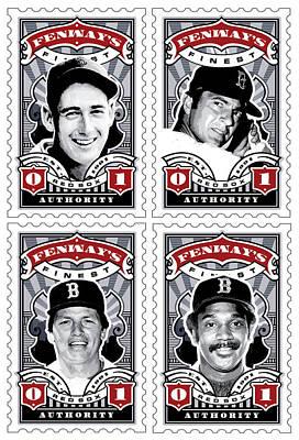 Red Sox Vintage Poster Prints