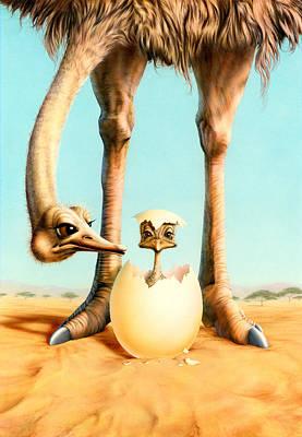 Emu Art Prints