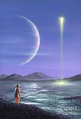 Extrasolar Planet Drawings
