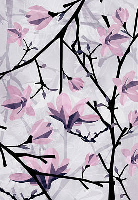 Designs Similar to Magnolia Pattern by Vess DSign