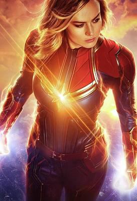 Designs Similar to Captain Marvel  by Geek N Rock