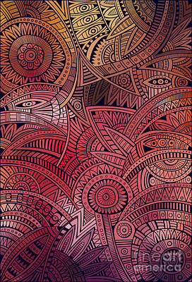 Designs Similar to Abstract Vector Tribal Ethnic