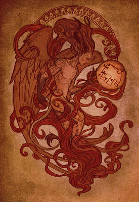 Designs Similar to Demons Of Goetia- Amy / Avnas