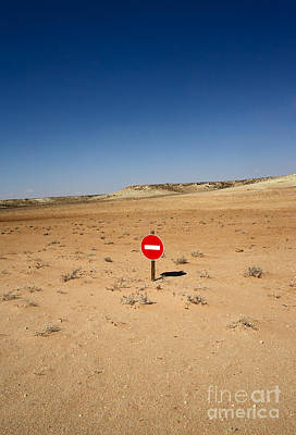Designs Similar to No-entry Sign In The Desert