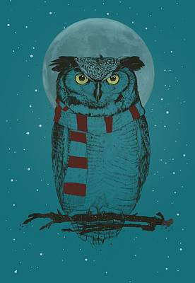 Designs Similar to Winter Owl II by Balazs Solti