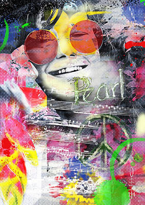 Designs Similar to Janis Joplin by Dray Van Beeck
