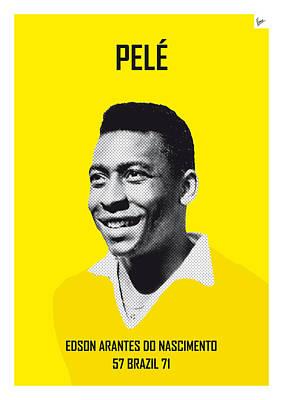 Designs Similar to My Pele Soccer Legend Poster