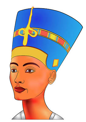 Designs Similar to Nefertiti by Michal Boubin