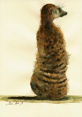 Meerkat Original Artwork