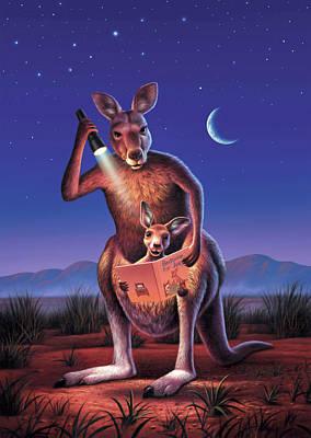 Kangaroo Digital Art
