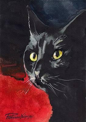 Designs Similar to Black Cat by Yuliya Podlinnova