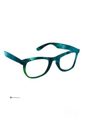 Glasses Mixed Media