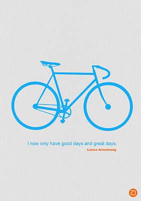 Bicyclist Art Prints