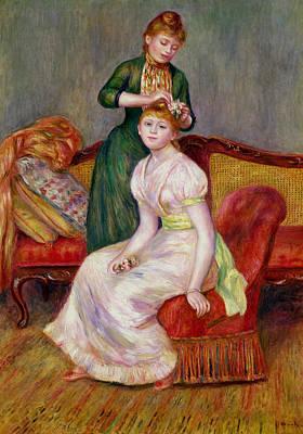 Designs Similar to La Coiffure by Renoir