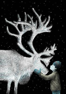 Reindeer Posters
