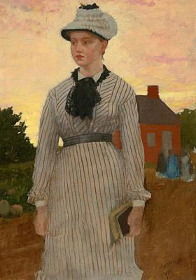 Red School House Paintings Prints