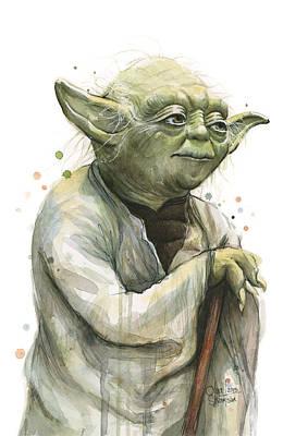 Designs Similar to Yoda Watercolor