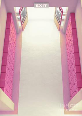 Designs Similar to Pink School Locker Corridor 2