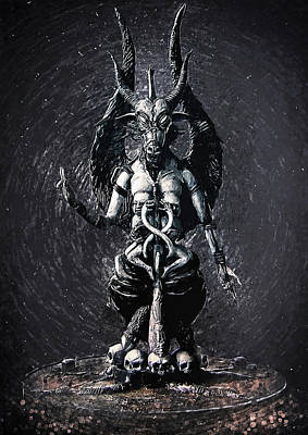 Satanism Digital Art