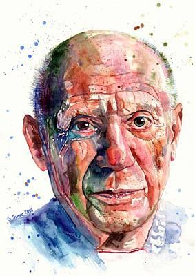 Designs Similar to Pablo Picasso Portrait