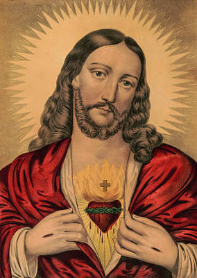 Designs Similar to Sacred Heart Of Jesus
