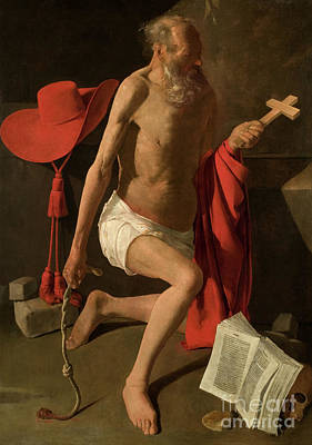 Designs Similar to The Penitent Saint Jerome