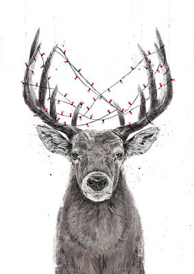 Designs Similar to Xmas Deer by Balazs Solti