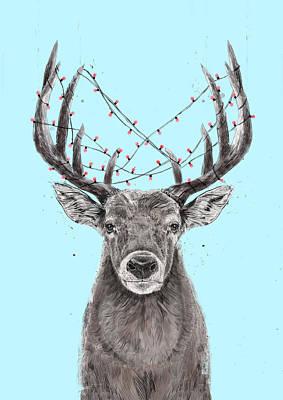 Designs Similar to Xmas Deer II by Balazs Solti