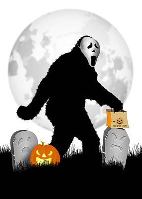 Designs Similar to Gone Halloween Squatchin'