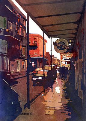 New Orleans Skyline Original Artwork