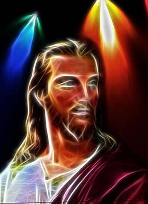 Fractal Christianity Framed Prints