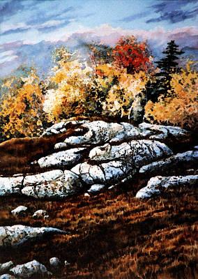 Autumn Landscape By Hanne Lore Koehler Paintings