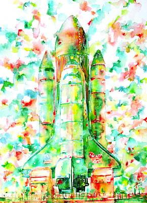 Rocket Boosters Paintings Prints
