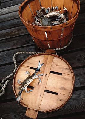 Bushel Basket Art