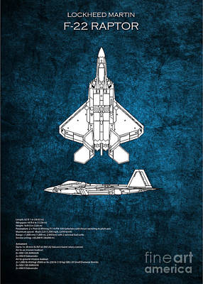 Designs Similar to F22 Raptor Blueprint